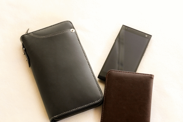 一年記念日の財布