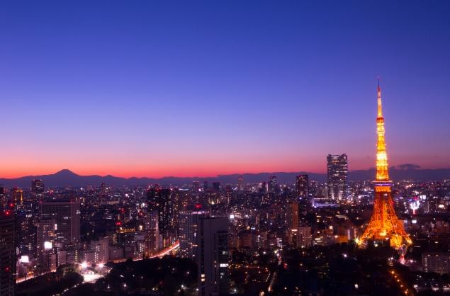 東京タワーでサプライズ